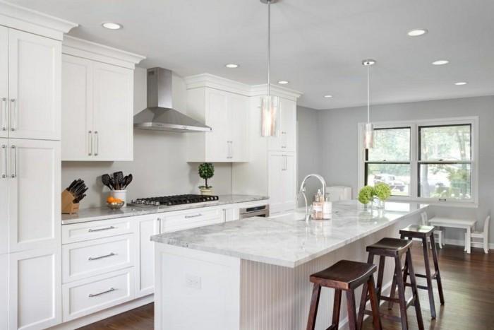 Moderne Gartenmobel Edelstahl : moderne kuechen haengelampen weisse einrichtung kücheninsel