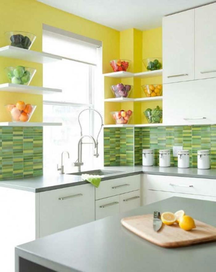 offene regale - funktionale stauraum ideen in form von regalen - Kleine Regale Für Küche