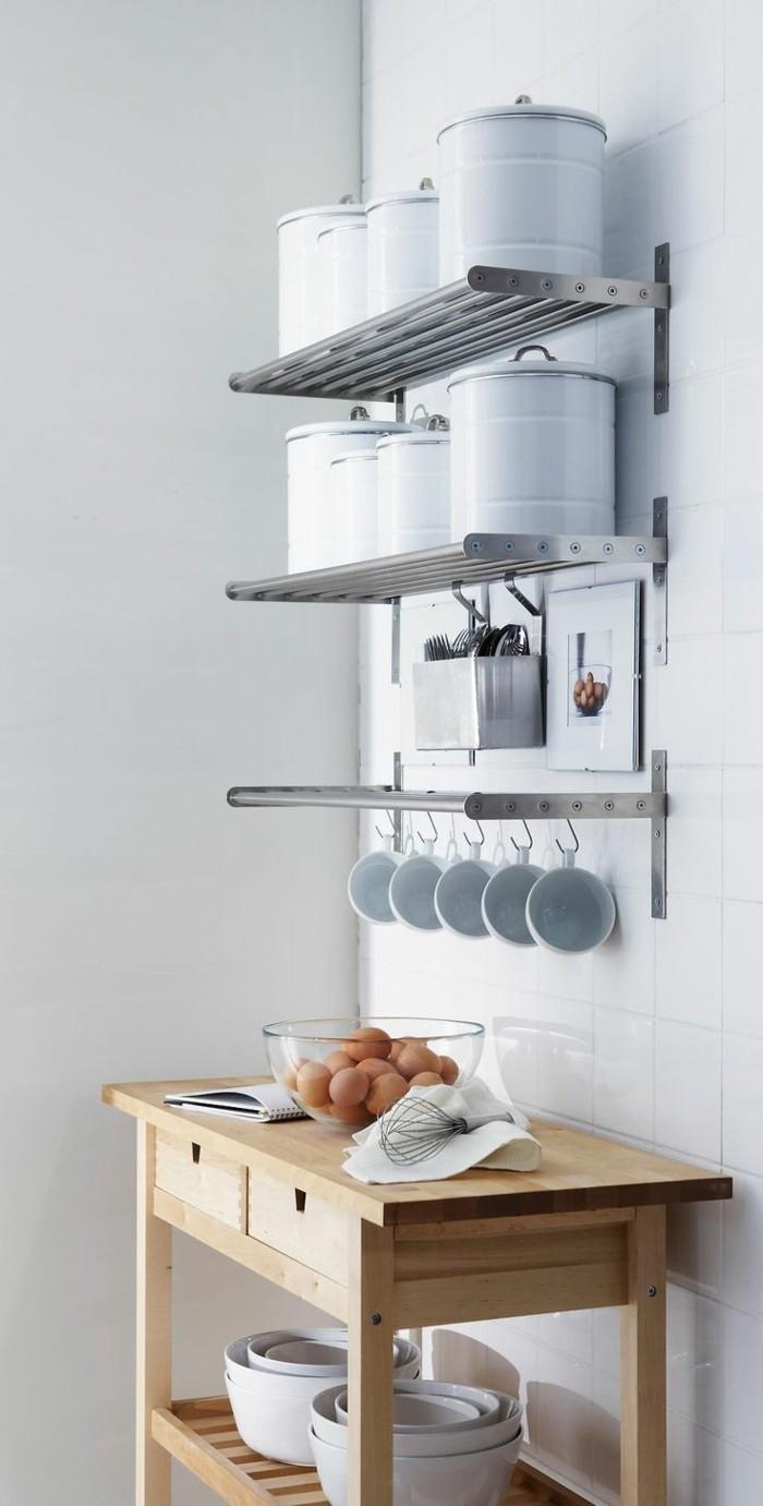 Verführerisch Offene Küchenregale Ideen Von Regale Kueche Einrichten Ideen Stauraum Moderne Wohnideen