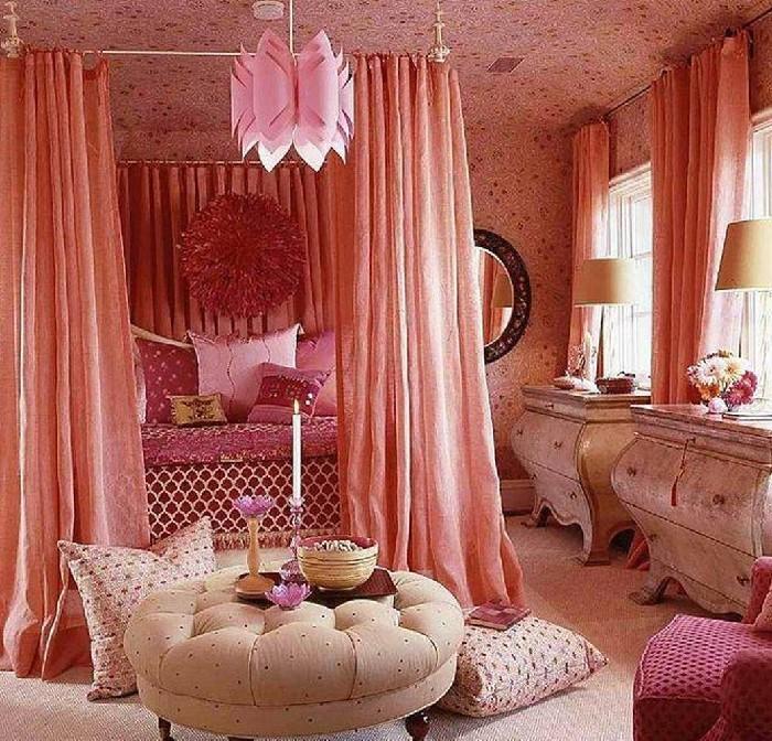 schlafzimmer romantik ideen gestaltung einrichten