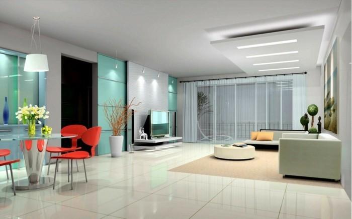 sofa stoff wohnideen wohnzimmer bereiche offener wohnplan