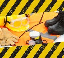 Sportliche Arbeitsschuhe und Sicherheitskleidung- alles von Relevanz