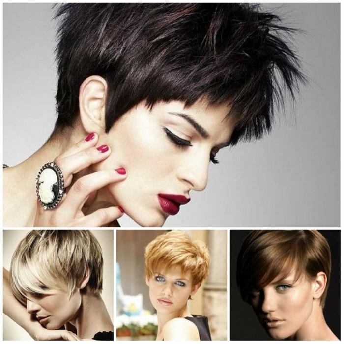 trendfrisuren damen pixie tendenz kurze haare