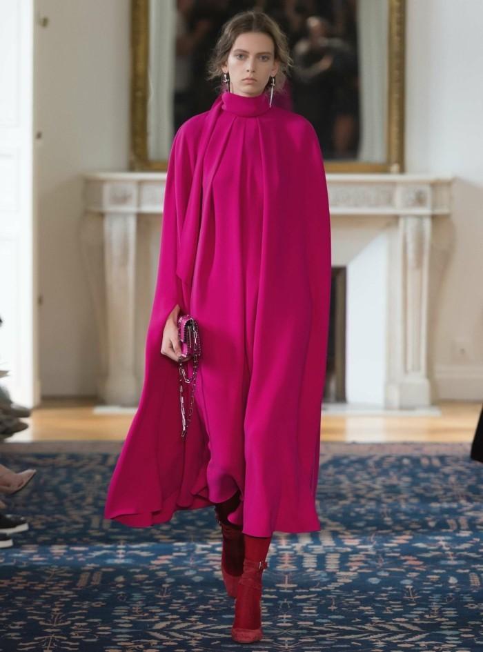trendige mode valentino romantisches rosa