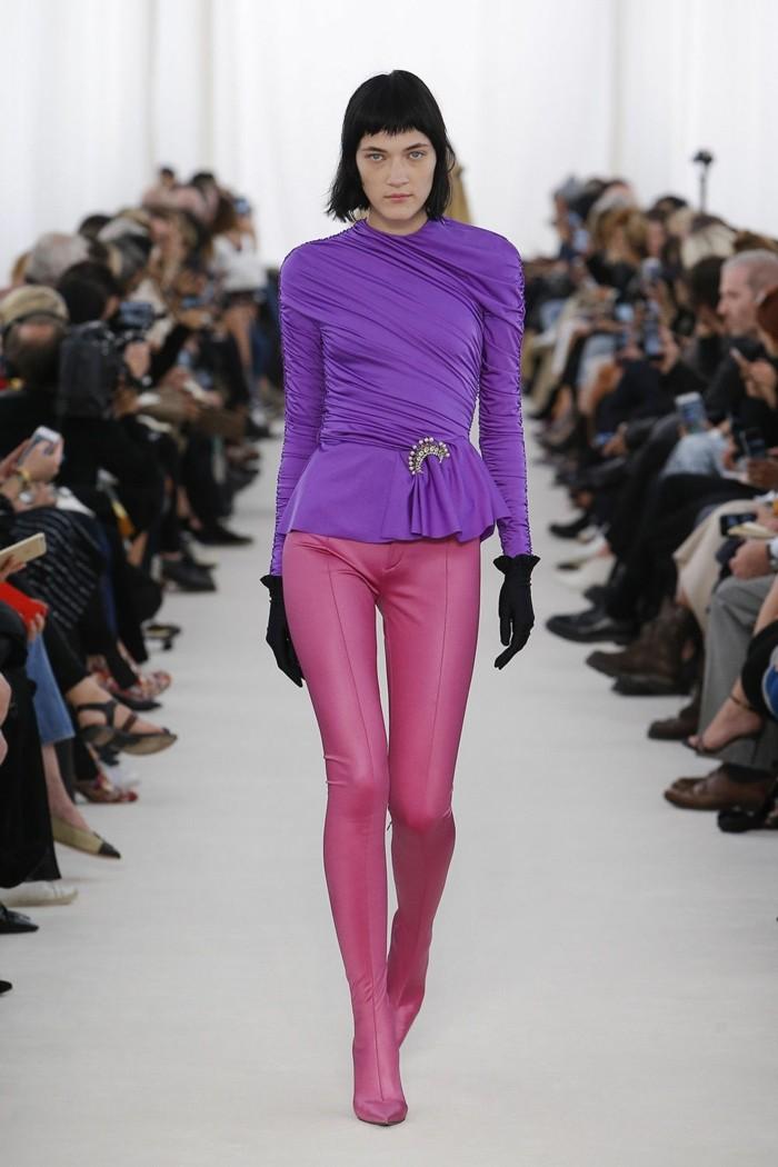 trendige mode balenciaga fruehling 2017