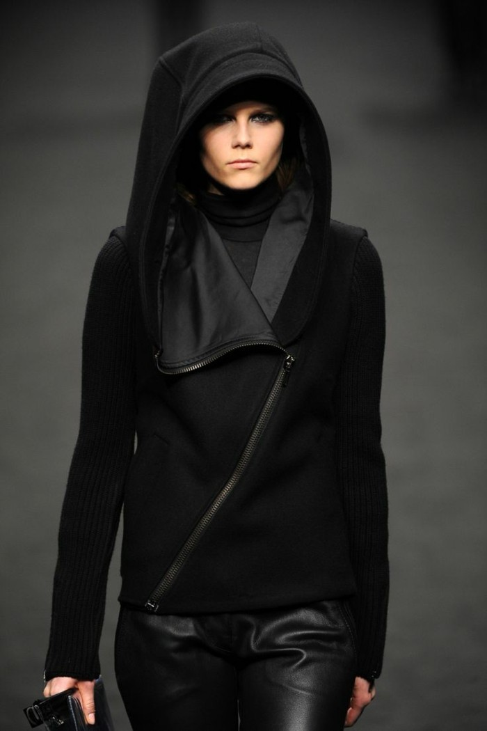 trendige mode kapuzenpullover frauenmode