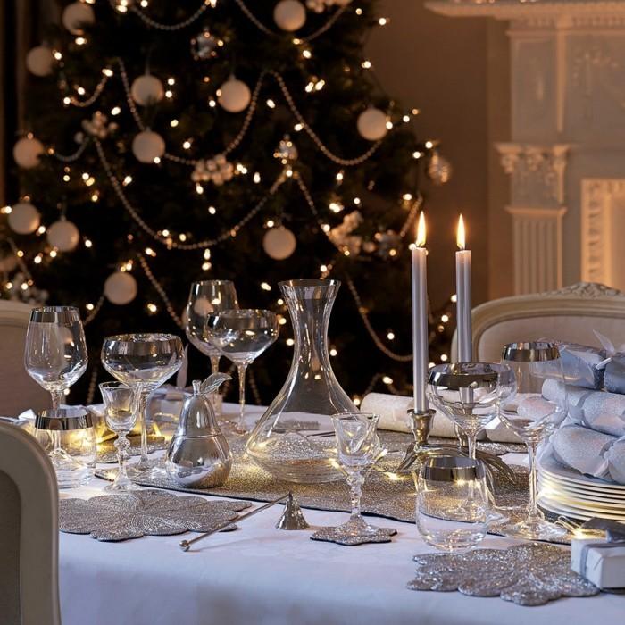 weihnachtliche tischdeko und ihre vielfalt. Black Bedroom Furniture Sets. Home Design Ideas