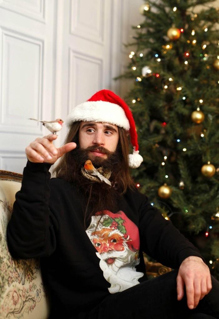 weihnachtsdeko maenner hipster suess