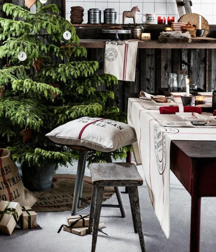 weihnachtsdeko skandinavisch 15