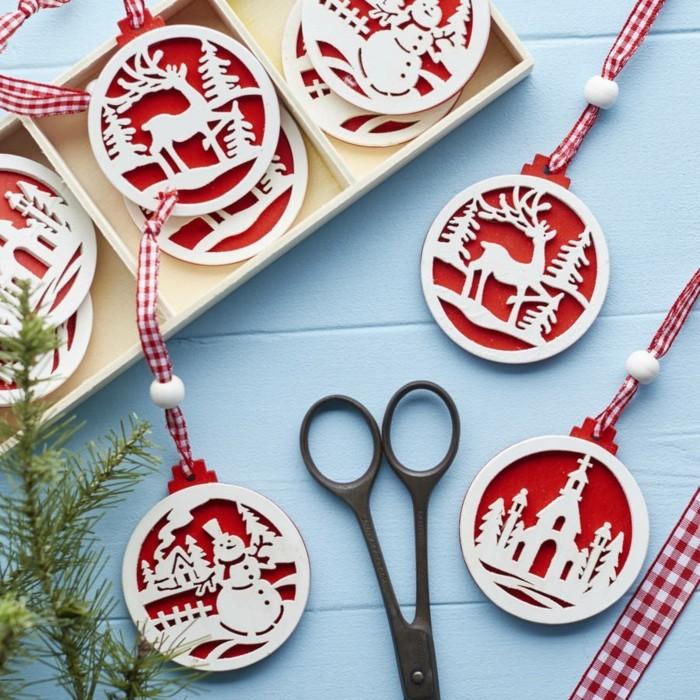 weihnachtsdeko skandinavisch 16