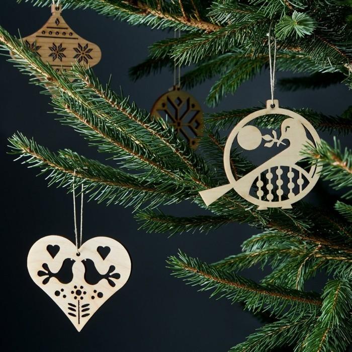 weihnachtsdeko skandinavisch 17