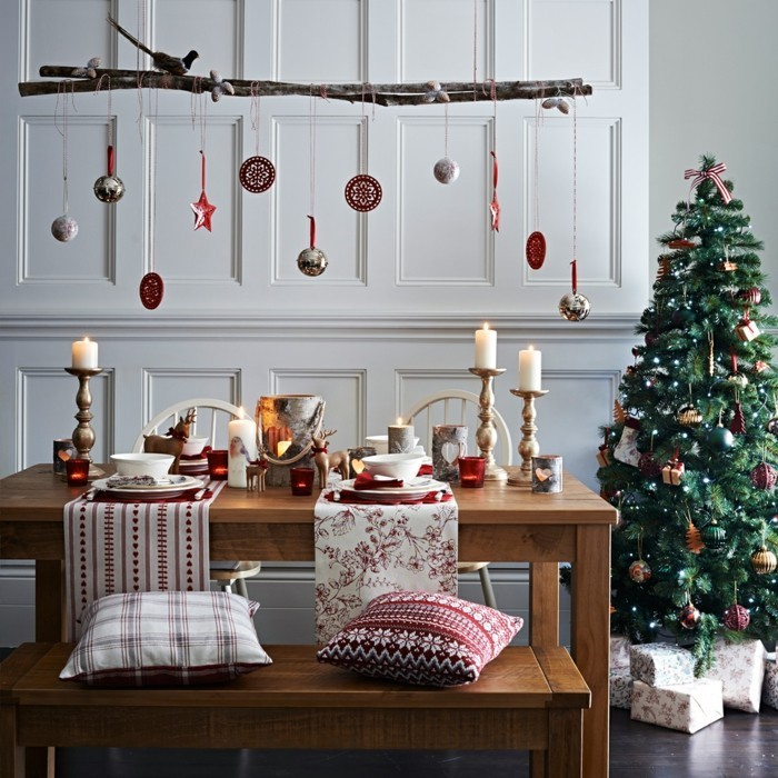 weihnachtsdeko skandinavisch 2