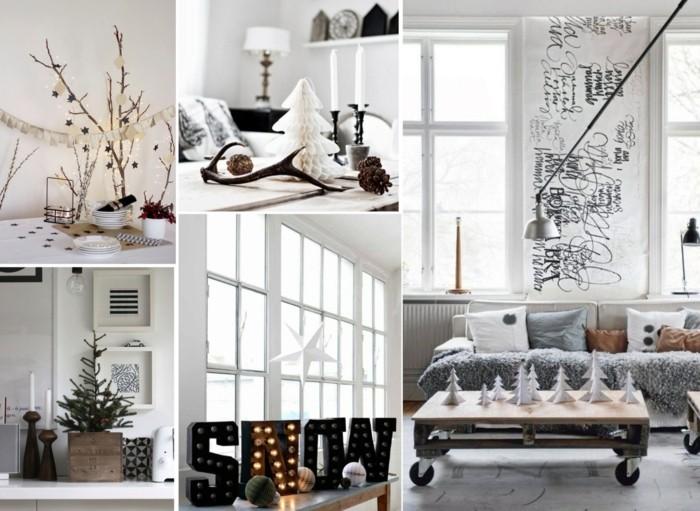 weihnachtsdeko skandinavisch 3