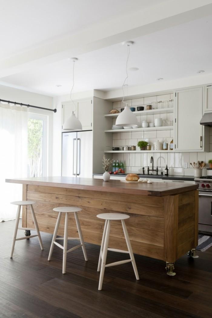 kücheninsel mit sofa – funktionale einrichtungsidee der küche, Hause ideen