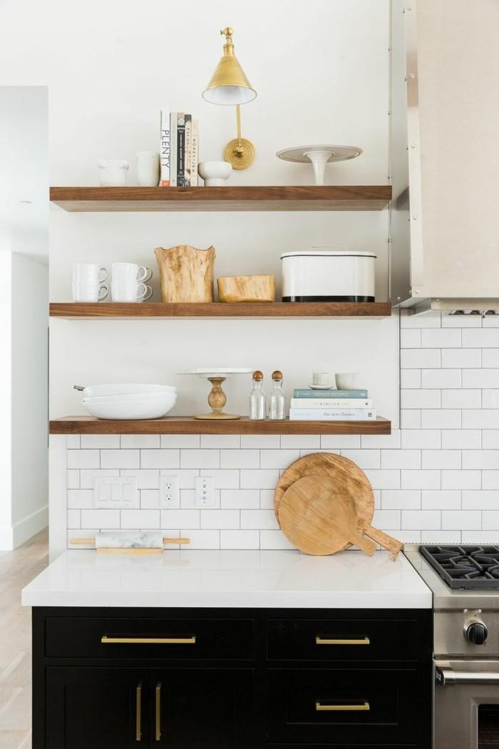 offene regale funktionale stauraum ideen in form von regalen. Black Bedroom Furniture Sets. Home Design Ideas