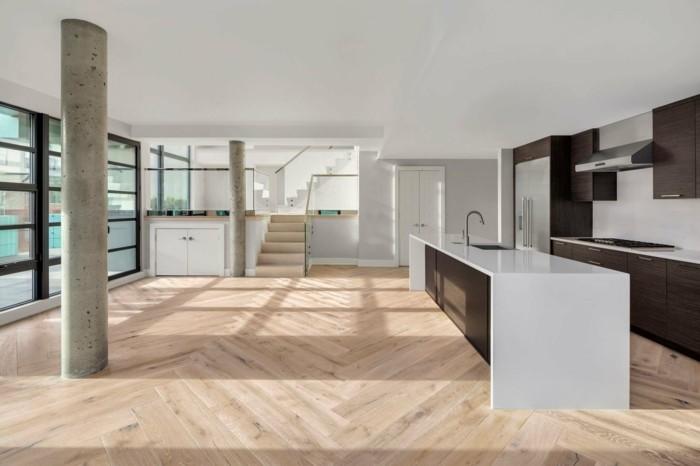 29 Wohnungseinrichtung Ideen Für Mehr Offenheit Und Wohnkomfort. Moderne  Wohnungseinrichtung Ideen Bodenbelag