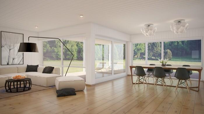 wohnungseinrichtung ideen wohnzimmer esszimmer offener wohnplan