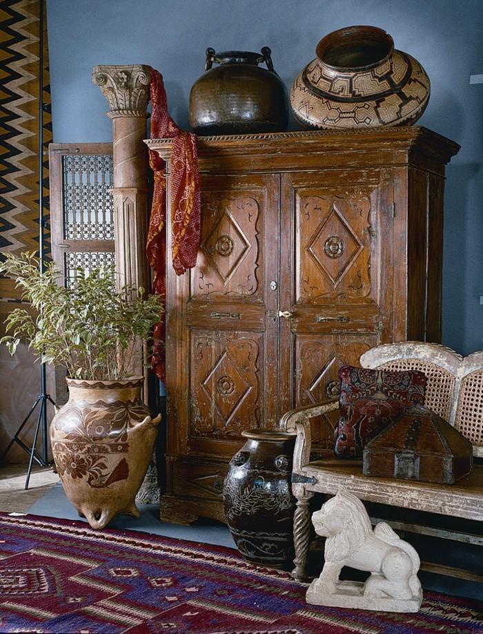 Wohnungseinrichtung im spanischen kolonialstil so for Kolonialstil accessoires