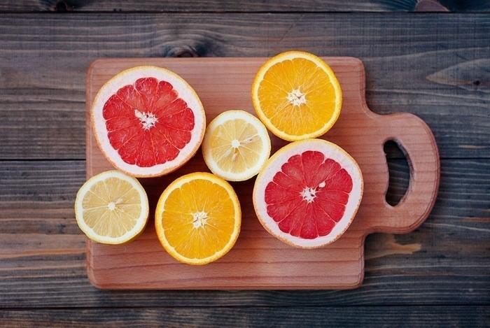 zahnaufhellung ideen weisse zaehne bleichen methoden aufhellen mit zitrusfrucht