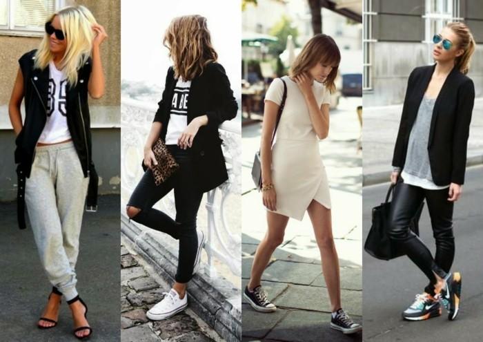 aktuelle modetrends sport elegant