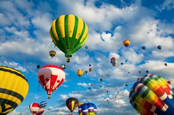 ballonfahren fliegen