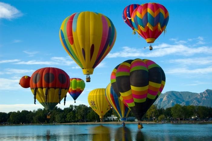 ballonfahren interessante formen