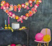 Blumen selber basteln – 55 Ideen für Kinder und Erwachsene, die gern basteln