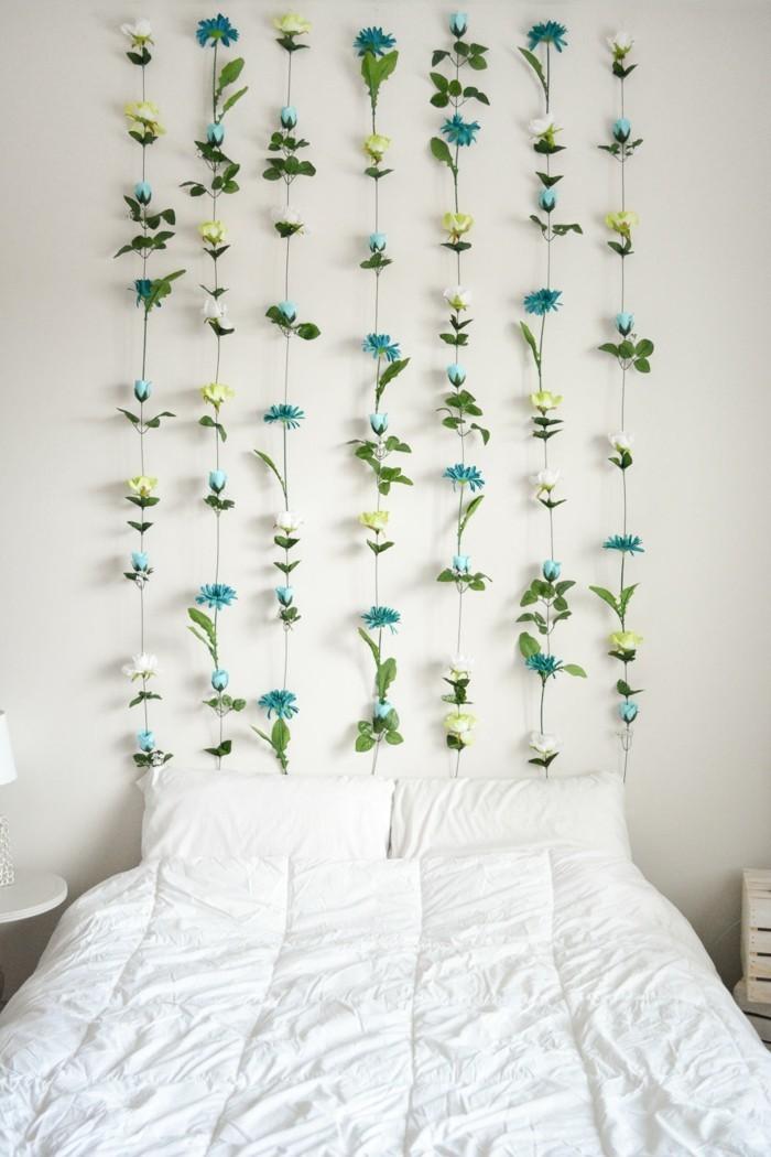 Blumen Selber Basteln Dekoideen Schlafzimmer