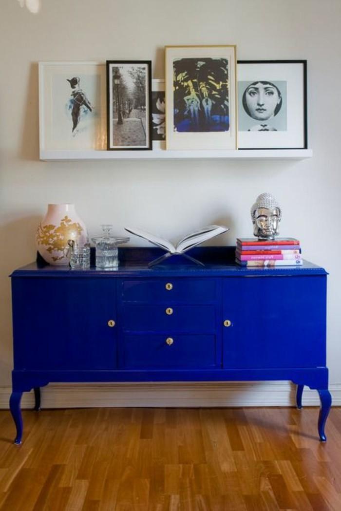 Bunte Möbel – 30 Innendesign Ideen mit viel Farbe