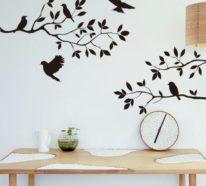 Coole Wandtattoos umwandeln nicht nur Wände, sondern ganze Räume