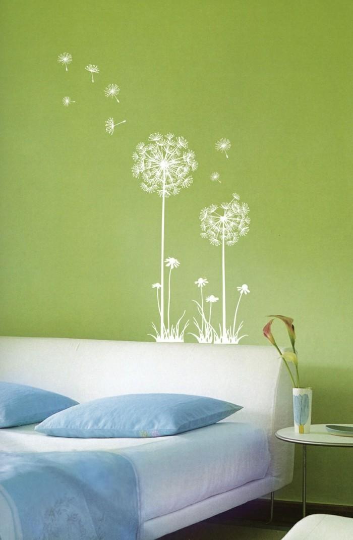 wandtattoos blumen schaffen das perfekte frische wohlgef hl zu hause. Black Bedroom Furniture Sets. Home Design Ideas