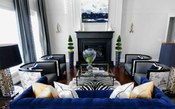 einrichtungsideen wohnideen wohnzimmer glastisch dekoideen