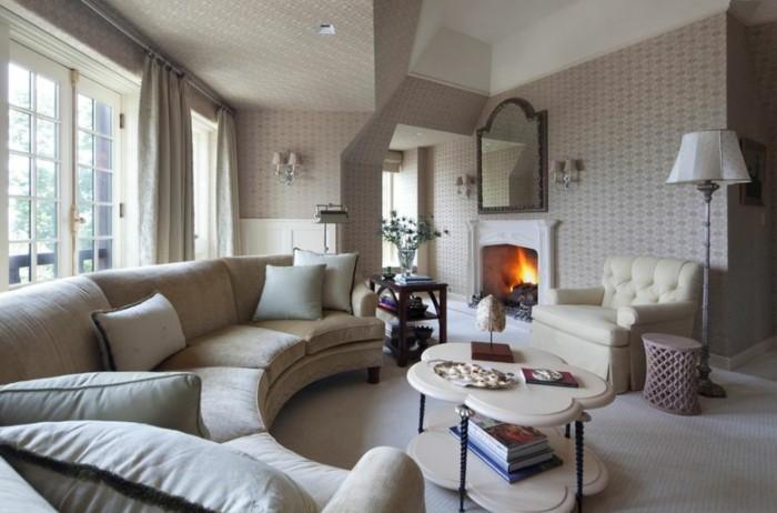 moderne einrichtungsideen wohnzimmer wohnzimmersofa moderner couchtisch schöne wände
