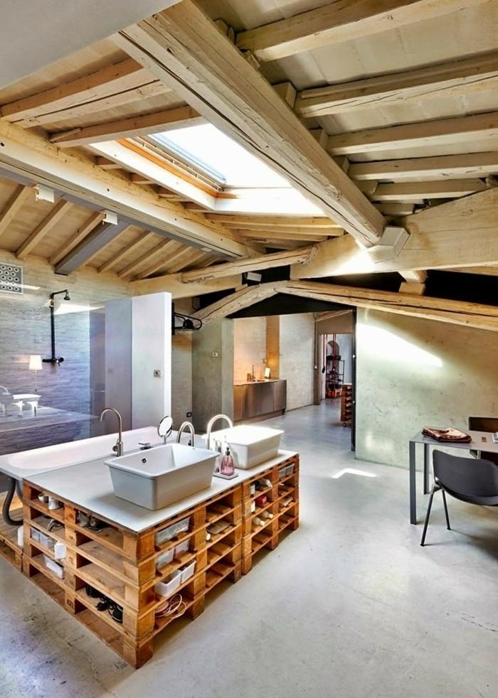 1001 originelle palettenm bel ideen zum selberbauen for Ideen badeinrichtung