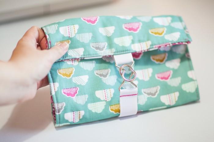 Geldbeutel nähen - 30 coole DIY Ideen für einen Geldbeutel