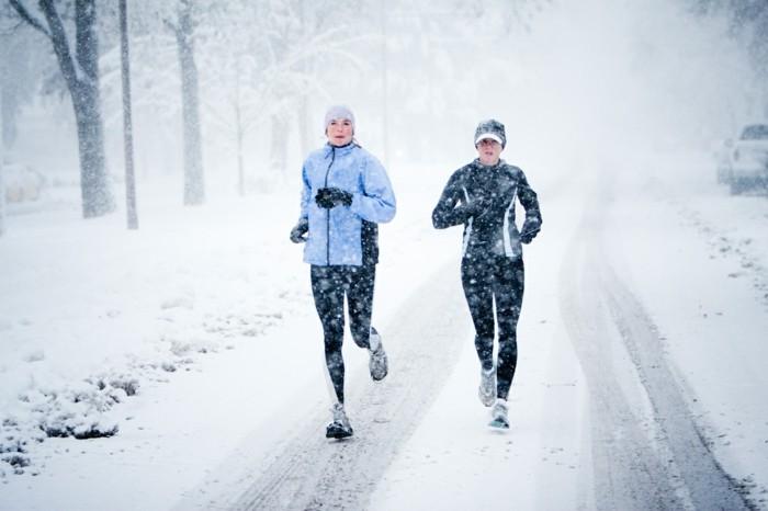gesünder leben sportaktiv im winter