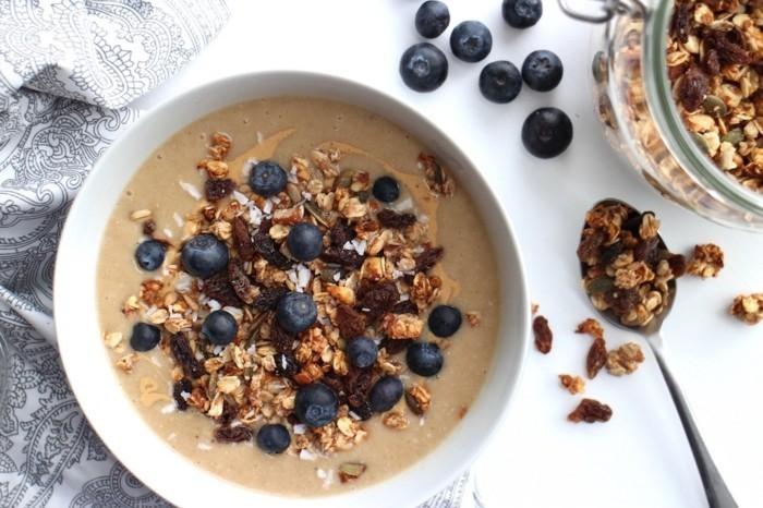 gesund leben maca smoothie frühstück superfood