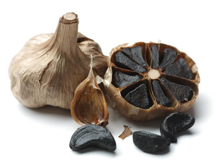 gesund leben schwarzer knoblauch superfood