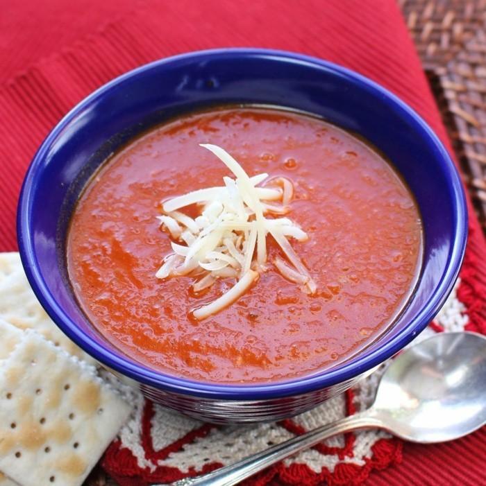 gesund leben wintersuppe tomatensuppe rezept