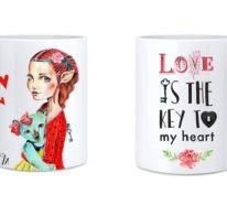 42 Happy Valentinstag Sprüche und romantische Ideen, die man auf Tassen bedrucken kann