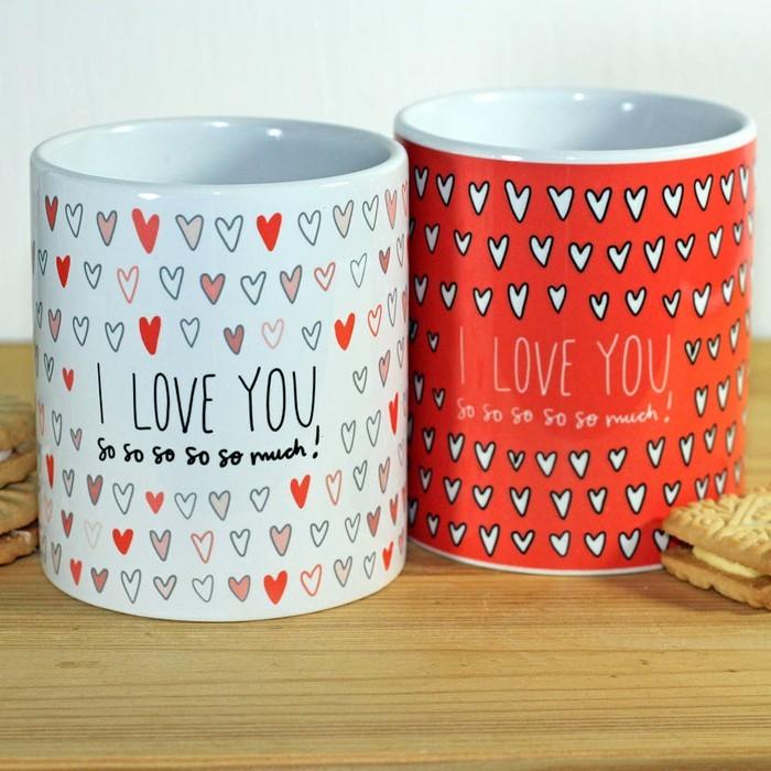 happy valentinstag sprueche romantische ideen tassen22
