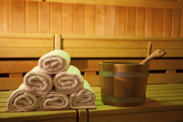heimsauna saunen gesundheit badetücher saunagänge