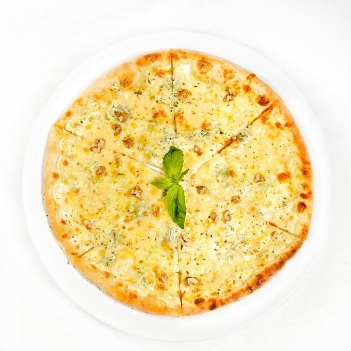 italienische pizza bianca