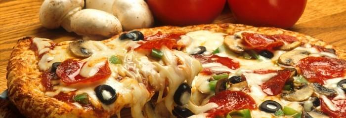 italienische pizza lecker zubereitung