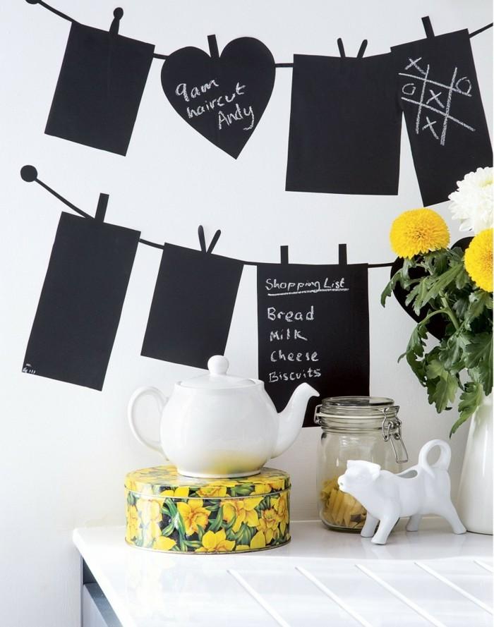 kücheneinrichtung farbige akzente minimalistisches küchendesign