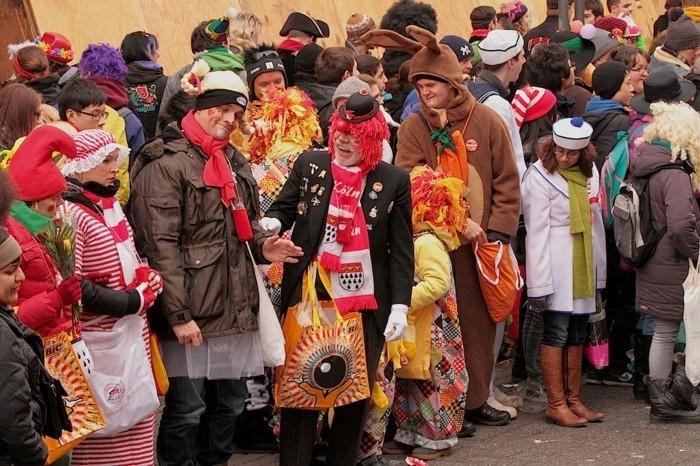 karneval 2017 köln kölle geisterzug rosenmontag fasching