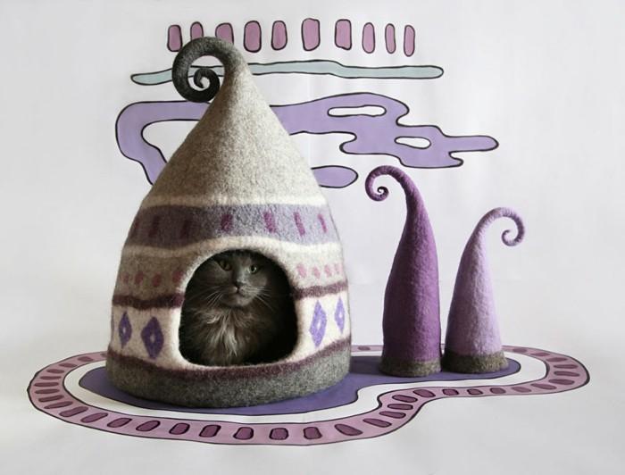 katzenhaus yuliya kosata thematisch lilanuancen filz