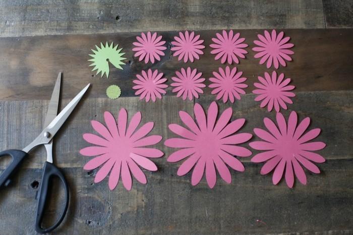 Kreativ Basteln Blumen Basteln Lila Gänseblümchen
