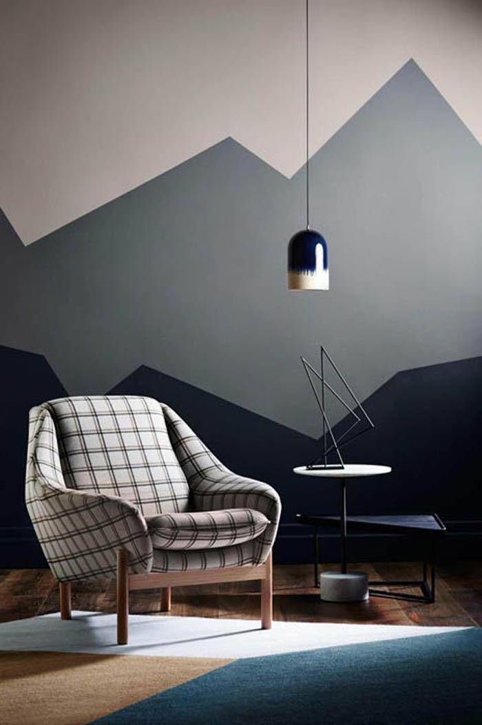 kreative wandgestaltung farbideen farbgestaltung farbwirkung wohnideen dekoideen 10