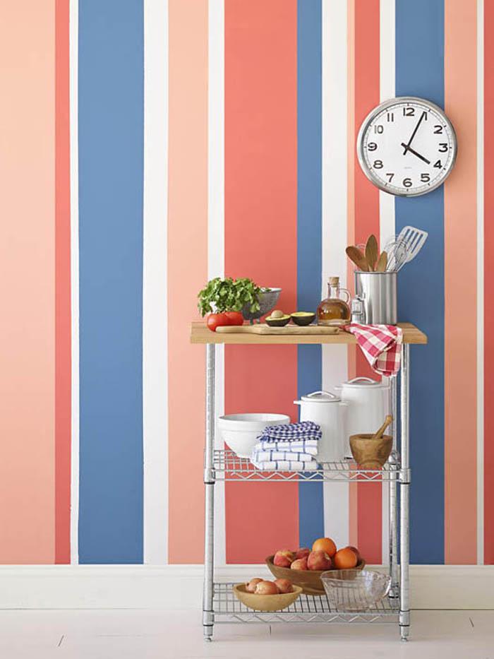 kreative wandgestaltung farbideen farbgestaltung farbwirkung wohnideen dekoideen 11